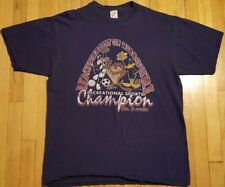 Vintage TAZ DAFFY DUCK shirt XL Looney Tunes 90s University of Missouri St Louis