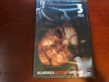 Triple Feature Horror Films Gosth Gate + Last Cofin + Melancholia DVD Brand New