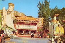 China Hong Kong Hongkong - Tin Hau Statue in Repulse Bay old chrome postcard
