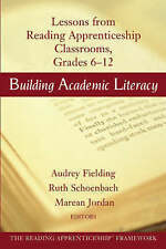 Building Academic Literacy: Lessons from Reading Apprenticeship-ExLibrary