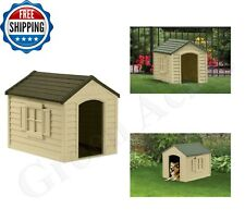 Dog Kennel for Large Dogs Outdooe Pet Cabin Insulated House Big Shelter New