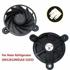 For Haier Refrigerator Freezer Cooling Fan GW12E12MS1AZ-52Z32 12V DC Replacement