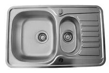 1,5 Becken Spülen aus Edelstahl für Bad & Küche | eBay | {Spülbecken küche 48}