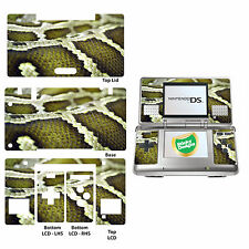 Snake Skin Pattern Vinyl Skin Sticker for Nintendo DS Original