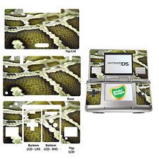 Serpiente Piel Estampado Vinilo Pegatina para Nintendo DS Original