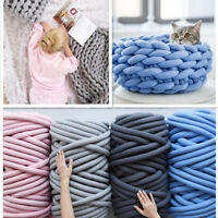 Super Chunky Yarn Arm Knitting Blanket Bulky Yarn Merino Wool Alternative 500g