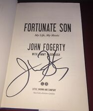 John Fogerty Signed Book Signed On Title Page With Proof Photos