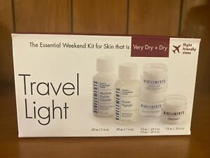 BIOELEMENTS Professional Skin Care Travel Light for Very Dry + Dry Skin