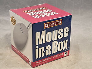 Vintage Kensington Mouse in a Box-Model 64206-For Mac- Brand New Sealed - EB163