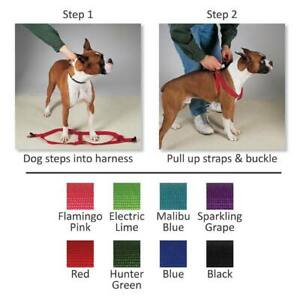 Dog Step In Harness Pet Harnesses Guardian Gear Nylon Adjustable Walking