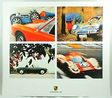Porsche 911 E Coupe 914/6 917 KH 1968-1971 Car Photo Print Sportscar Poster