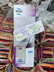 Welby Safety rail for bathtubs Unused in original box. Perfect condition. 43194