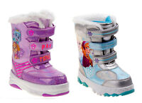 NWT Toddler Girls Disney Snow Boots Size 7 9 10 Frozen, Paw Patrol, Elsa Anna