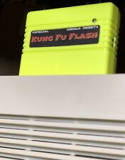 Kung Fu Flash Programmable Cartridge For C64 Yellow Fluo Shell