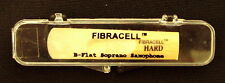 NEW OLD STOCK Fibracell Brand Reed for Soprano Sax, Hard Strength