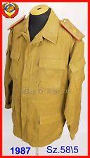 Sz.58-5 GENERAL COTTON AFGANKA Soviet sand camo field uniform kgb gru