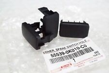 1PC-TOYOTA-HILUX-VIGO-FORTUNER-BLACK-PLASTIC-COVER-SPARE-SWITCH-HOLE  1PC-TOYOT
