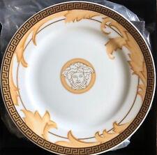 VERSACE MEDUSA PLATE GORGONA GOLD GREEK KEY ROSENTHAL SALE NEW LOVE  Gift