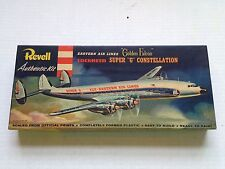 1956 EASTERN AIRLINES LOCKHEED CONSTELLATION REVELL MODEL AIRPLANE KIT, COMPLETE