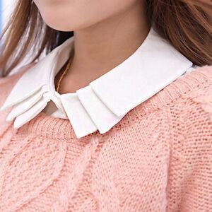 Women's Shirt Collar Detachable Collar Dicky False Collar Fake Collar