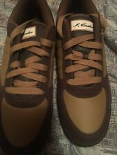 reebok s carter Jay Z Leather Sneakers Men's Sz 12 Brown Tan New