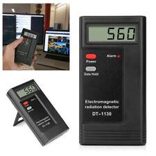 Tragbar Digital elektromagnetische Strahlung EMF Meter Detektor Messgerät Tester