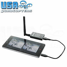 Eachine ROTG01 Cellphone Microsoft Tablet FPV Receiver 5.8GHz 150Ch (Black)