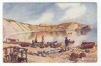 Great Britain Tuck's postcard OILETTE series LULWORTH COVE scene