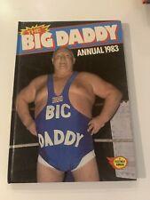 More details for the big daddy annual 1983 vintage uk wrestling television hardback annual