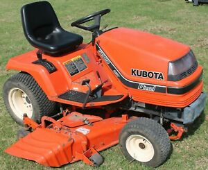 Kubota G2000 G1700 G1800 G1900 Lawn Garden Tractor Shop Service Repair Manual CD