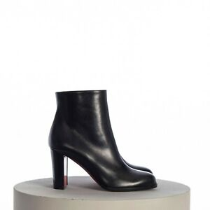 CHRISTIAN LOUBOUTIN 995$ Adox 85mm Ankle Boots In Black Smooth Leather
