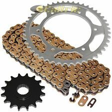 Golden O-Ring Drive Chain & Sprocket Kit Fits BMW F650 1994-2000