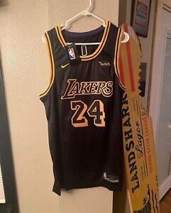 LA Lakers Kobe Bryant Black Mamba Jersey