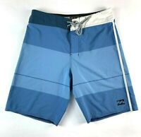 "Billabong Platinum X Taj Burrow Premium Board Shorts Size Men's W30"""