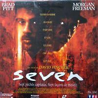 LASERDISC - SEVEN - WS VF PAL - Morgan Freeman, Brad Pitt, Kevin Spacey