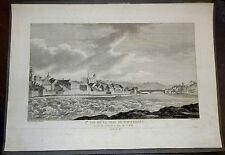 Kupferstich,Ire VUE DE LA VILLE DE SCHAFHAUSEN,1780/86,Nee u.Masquelier,Perignon