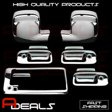 FOR CHEVY EXPRESS 03-15 CHROME MIRROR, DOOR HANDLE & TAILGATE COVERS