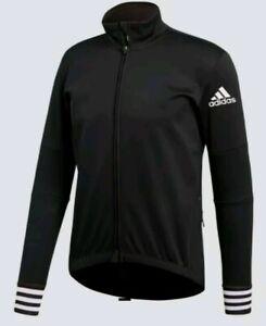 ADIDAS Adistar Long Sleeve Cycling Jacket CW7727 Black Mens XL Retail $225 New
