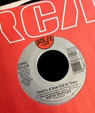 KEITH WHITLEY There's A New Kid In Town / A Christmas Letter (7in 45rpm) NEW