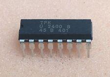 1 pc. U2400B  TFK  Laderegler IC  DIP16  NOS