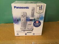 Panasonic Kx-Tgd532W Cordless Phone Call Block Answering Machine 2 Handsets Nib