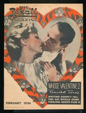 JOAN CRAWFORD & FRANCHOT TONE Cover of The REXALL Magazine February 1934 EX