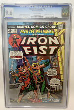 Marvel Premiere #16 2nd Appearance Iron Fist CGC 9.6