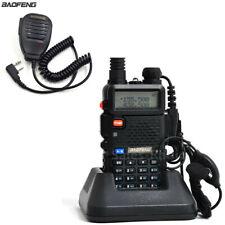 BaoFeng UV-5R Dual Band VHF/UHF FM Walkie Talkie Two-Way Radios uv5r Speaker Mic