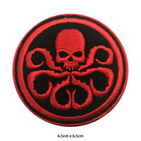 Captain America Hydra Embroidered Patch Iron on Sew On Badge For Clothe Bags etc
