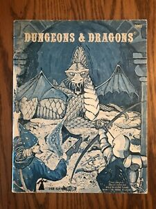 Dungeons & Dragons Rulebook Basic 1979 3rd Edition Very Good+