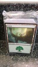 Magic The Gathering Deckmaster Basic Land 80 Cards Deck Trading Gaming Cards