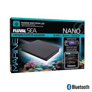 NEW Fluval Sea Marine Nano Bluetooth LED 20W (12.7 x 12.7cm)