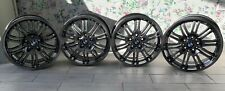 "Genuine BMW E46 M3 18"" Style 67M 8J & 9J Staggered Alloy Wheels Set"