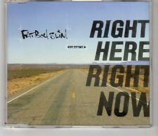 (HI428) Fat Boy Slim, Right Here Right Now - 1999 CD